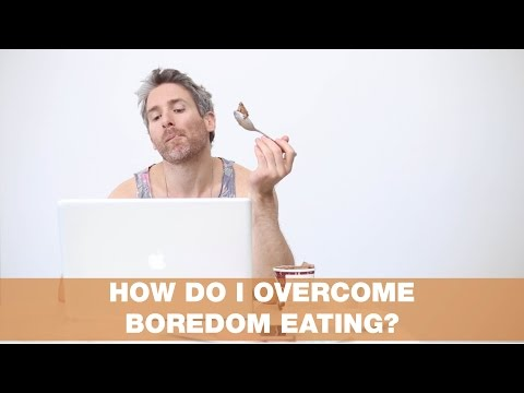 How Do I Overcome Boredom Eating? | Thursday Therapy #15!