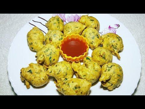 पालक पकोड़े पालक भजिये रेसिपी सिर्फ ५ मिनिट में Palak ke Bhajiye Palak pakore