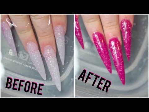 Testing color changing nail polish