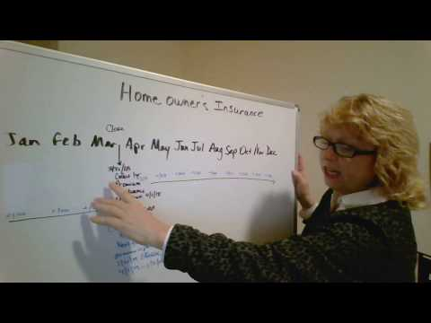 Homeowner's insurance at closing