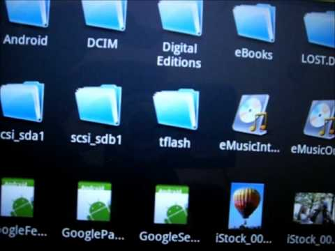 Wie installiere ich den Android Market auf dem Coby Kyros 1126 (10 Zoll Tablet)