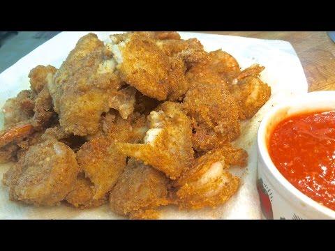 3-2-1 Fried Shrimp (low-carb & tough talk)