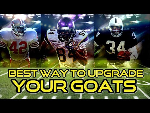 BEST WAY TO UPGRADE GOAT PLAYERS | MADDEN 18 ULTIMATE TEAM