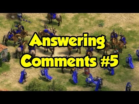 Answering Comments #5