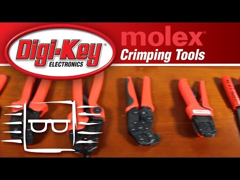 Molex Crimping Tools -- Another Geek Moment | DigiKey