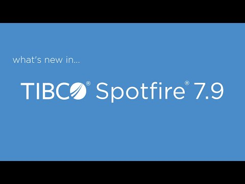 What's New in Spotfire 7.9