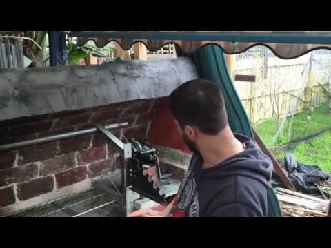 Making of my Pizza Oven, Smoker, BBQ and Spit Combination - Part 4 - The BBQ