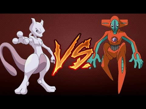 Mewtwo VS Deoxys (Pokemon Emerald)