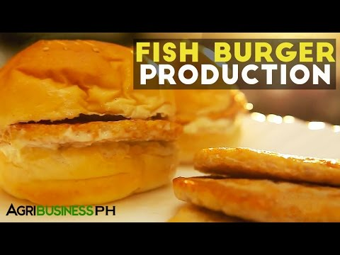 How to make fish burgers | Agribusiness Philippines