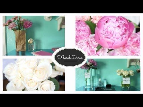 Flower Decor DIY ♡