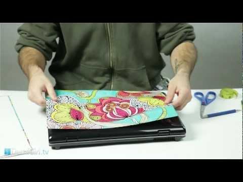 Universal Laptop Skin Installation   DecalGirl