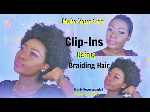 Make your Own Clip-Ins Under £10 - Highly recommended (Part 1)