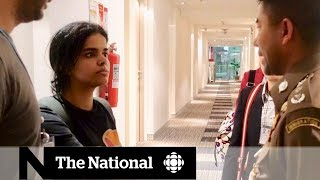 Saudi teen under UN protection after fleeing her family to seek asylum