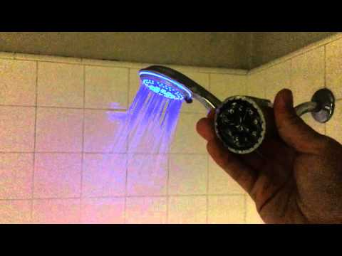 DreamSpa Color Changing LED Shower Head Review