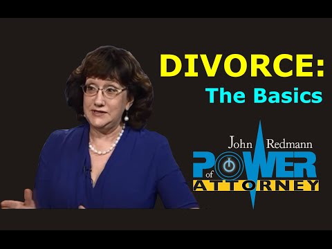 Divorce Law: The Basics