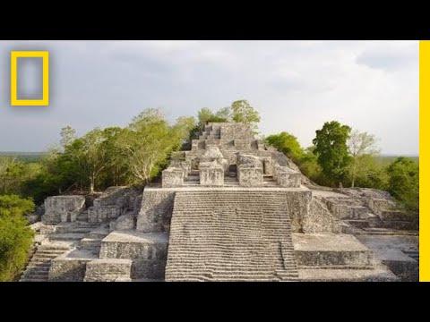 Belize's Ancient Maya Sacrificial Cave: Rare Footage | One Strange Rock