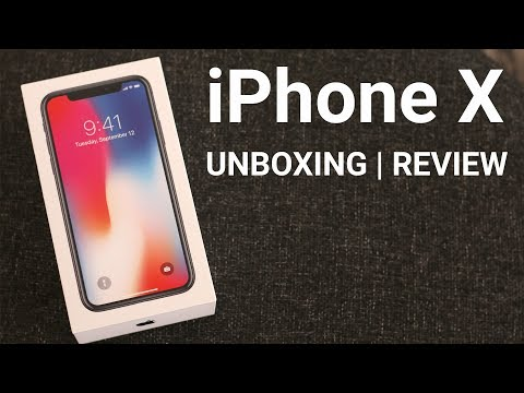 iPhone X Unboxing & My Thoughts: SPACE GREY (iPhone 10)