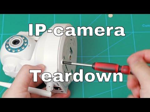 720P WiFi PTZ IP-Camera teardown