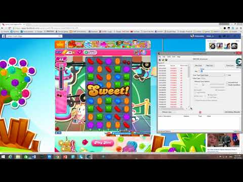 How to hack Unlimited scores and chances in Candy Crush on PC