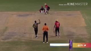 Samuel Badree Hat trick in IPL AND CPL T20 2017 Rcb vs Mi
