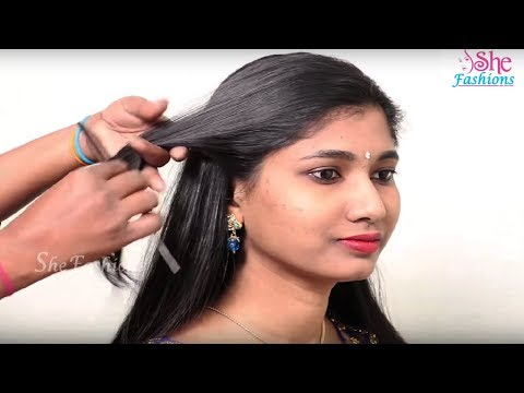 5 Easy Hairstyles for long hair step by step tutorial | simple hairstyle for long hair