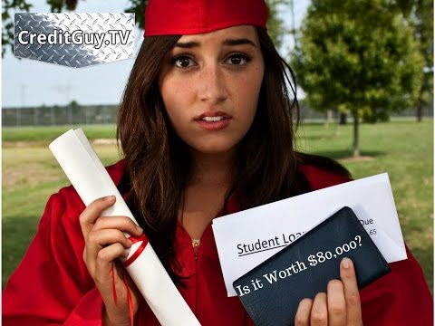 Is a University Degree Worth $80,000 in Debt?