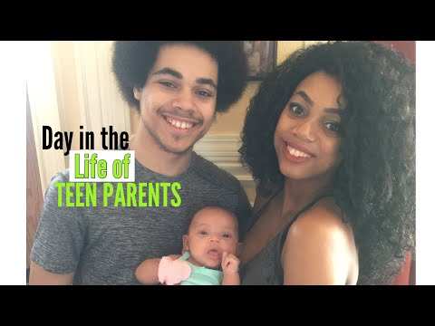Vlog//Day in the Life of Teen Parents| Doc Appointment, Bath Time, Learning New Words