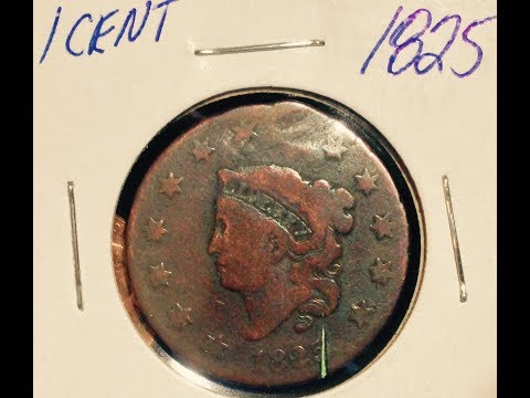 Matron Head Large Cent Liberty Penny (1816-1839)