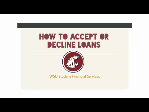 How to Accept or Decline loans