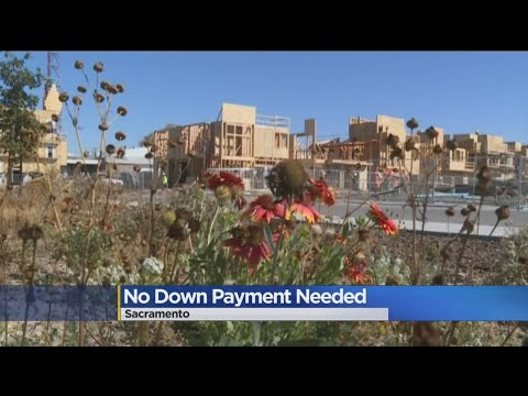 Sacramento Housing Development Offers Mortgage With No Down Payment