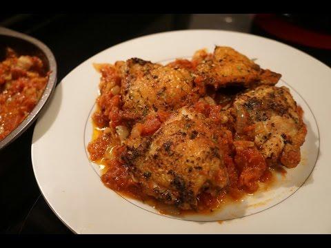 Chicken In Tomato Sauce Recipe