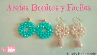 89f06d946cab Aretes de Chaquira   Aretes de mostacilla   earrings