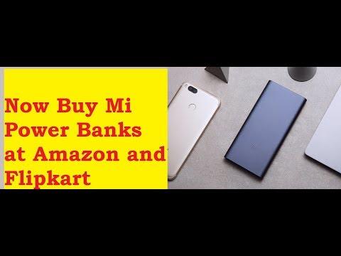 Now Buy Xiaomi Mi Power Bank 2i at Amazon India and Flipkart (Hindi)