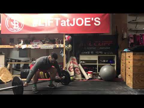 Snatch with No Foot movement