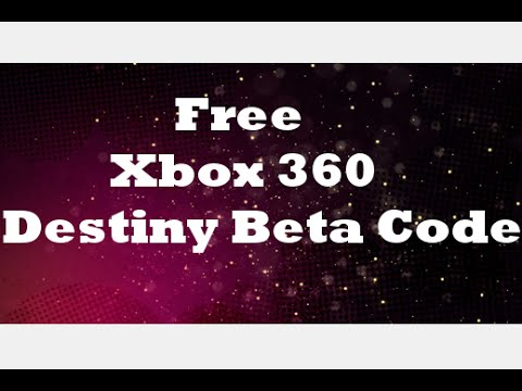 Free Xbox 360 Destiny Beta Code Giveaway [CLOSED]