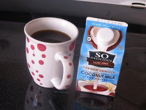 Product Review: So Delicious Coconut Milk coffee creamer (dairy free, vegan)
