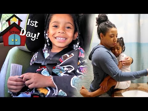 Zoë's First Day Of Pre-K! - Mommy Daughter School Days
