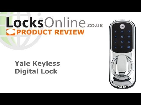 Yale Electric Keypad Rim Latch   Product Reviews from LocksOnline