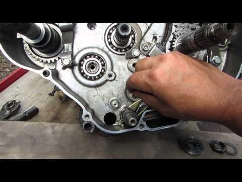 54% gear reduction install in 300 Honda video Dons camera 011