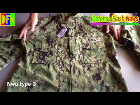 NEW NAVY UNIFORM WILL SEE MILITARY DEPART FROM 'BLUEBERRIES' CAMOUFLAGE CLOTHING II ❗