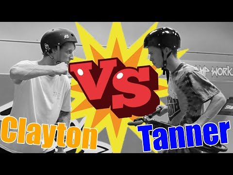 Tanner Fox VS Clayton Lindley GAME OF SCOOT at the Tanasy Factory