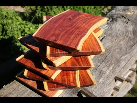 If life gives you twisted slabs - make cutting boards