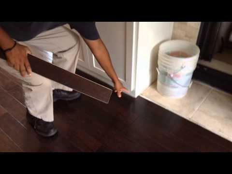 Learn how to install plank floors