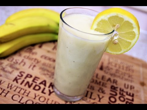 PINEAPPLE AND BANANA SMOOTHIE RECIPE | Nigerian Food Channel