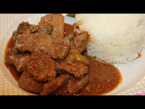 How To Make Beef Liver Stew | Episode 42