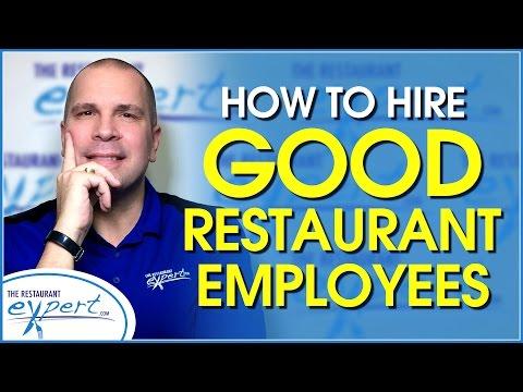 Restaurant Management Tip - 5 Tips for Hiring Good Restaurant Employees - #restaurantsystems