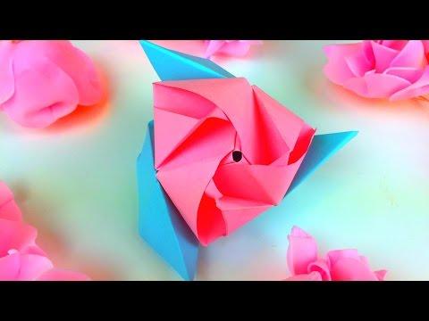 Origami Magic Rose Cube Easy Tutorial