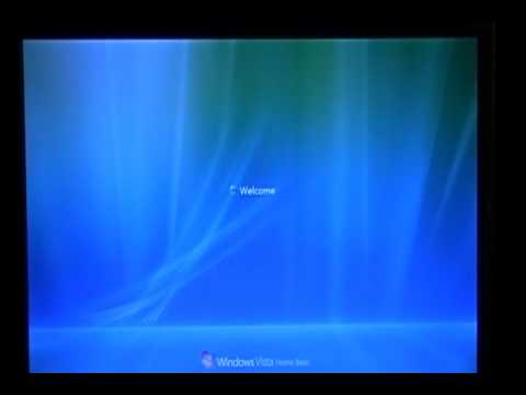 windows vista / xp stuck on welcome screen fix