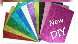 Glitter Foam Sheet Craft Videos 9tube Tv