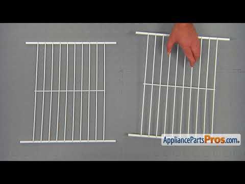 Refrigerator Wire Shelf (Part #WPW10318947) - How To Replace